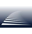 Zebra crossing background vector image vector image