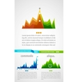 infographic background vector image vector image