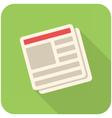 News icon vector image vector image
