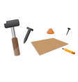 carving tools vector image