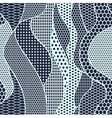 Blue lace fabric seamless pattern vector image