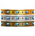 Jewelry bracelet vector image