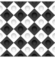 Black and white grid with round holes vector image vector image