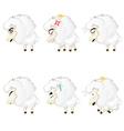 Cute Chibi Sheep vector image