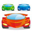 car color vector image