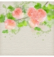 Watercolor Creative Background vector image vector image