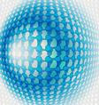 Background blue vector image