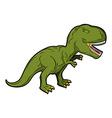 Dinosaur Tyrannosaurus Rex Prehistoric reptile vector image