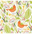 elegance floral pattern vector image