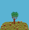 last tree vector image