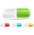 Capsule Pills vector image