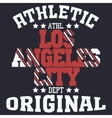 Los Angeles vector image