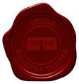 danger temple wax seal vector image vector image