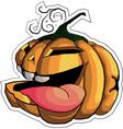 pumpkin Halloween 2 vector image