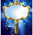 Magic mirror vector image