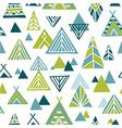 Strange journey - seamless pattern vector image