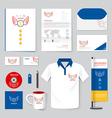 brochure flyer magazine folder t-shirtcover bookle vector image