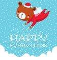 Happy everything vector image vector image