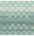 Faded floral background vector image vector image