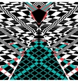 Abstract geometric background vector image