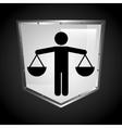 balance icon vector image