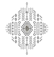 Tribal ethnic ornament vector image