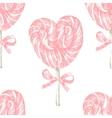 hand drawn lollipop seamless vector image