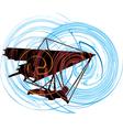 Hang Glider vector image