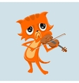 Very sad music vector image