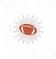 american football bal icon vector image