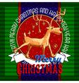 Design Christmas card vector image vector image