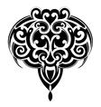 Maori tattoo shape vector image vector image