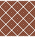 Simple brown background with rombs vector image