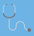 stethoscope healthcare icon vector image