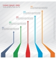 Concept of arrows for different business design vector image