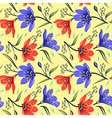 Seamless Floral pattern 2 vector image