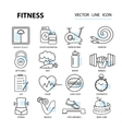 Set of for design fitness and vector image