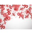 Blurred sale background vector image