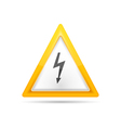 High Voltage Sign vector image