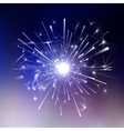 Ice Light fireworks vector image