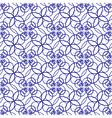 seamless blue pattern vector image