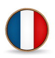 France Seal vector image