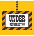 under construction template icon vector image