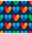 Overlapping colors Colorful seamless pattern vector image vector image