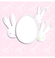 Springtime Easter Holiday Background vector image vector image