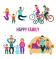 Family Fun Set vector image