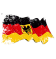 Germany State Flag Grunge vector image