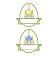 russian easter vector image vector image