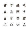circus - flat icons vector image