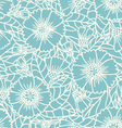 Daisy doodle pattern vector image